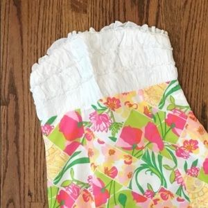 Lily Pulitzer Franco Dress Tropical Patch 6